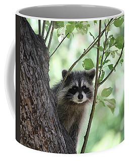 Curious But Cautious Coffee Mug
