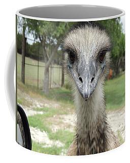 Curious Emu At Fossil Rim Coffee Mug