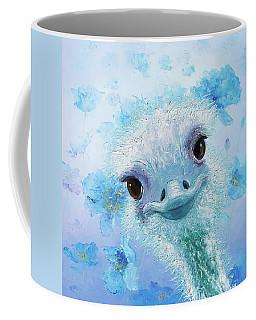 Curious Ostrich Coffee Mug