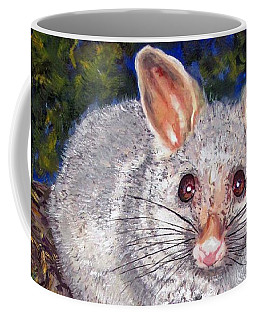 Curious Possum  Coffee Mug