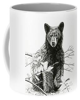 Curious Young Bear Coffee Mug