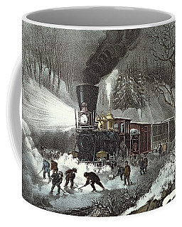 Currier And Ives Coffee Mug
