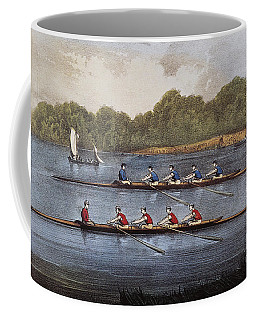 Currier & Ives: Rowing Contest Coffee Mug