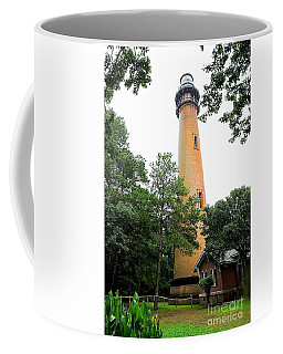 Currituck Beach Lighthouse Coffee Mug by Shelia Kempf