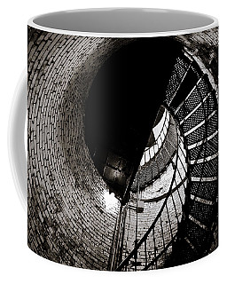 Coffee Mug featuring the photograph Currituck Spiral II by David Sutton