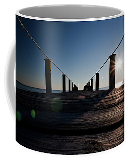 Coffee Mug featuring the photograph Currituck Sunset by David Sutton