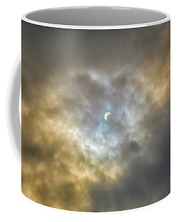 Curtain Of Clouds Eclipse Coffee Mug