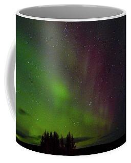Curtains Of The Aurora Coffee Mug