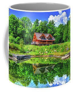 Curtis Vance Memorial Apple Orchard Coffee Mug