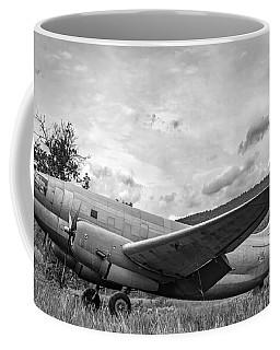 Curtiss C-46 Commando - Bw Coffee Mug