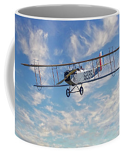 Curtiss Jn-4h Biplane Coffee Mug