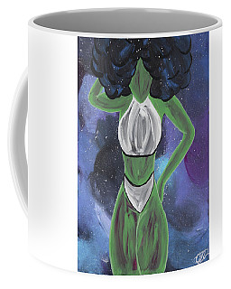 Curves Out Of This World Coffee Mug by Cyrionna The Cyerial Artist