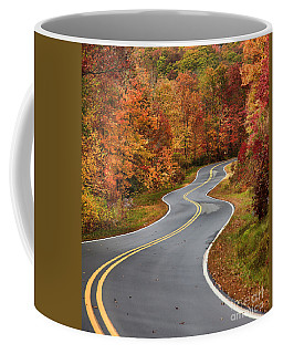 Curvy Road In The Mountains Coffee Mug