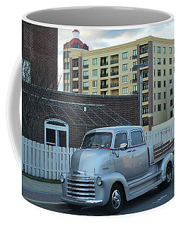 Coffee Mug featuring the photograph Custom Chevy Asbury Park Nj by Terry DeLuco