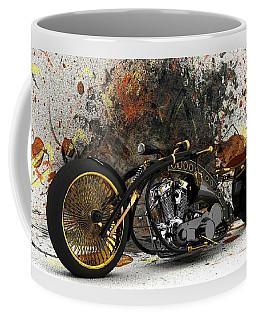 Custom Chopper Gold Coffee Mug