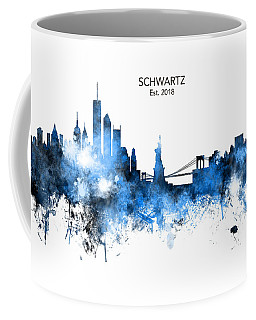 Custom New York Skyline Coffee Mug