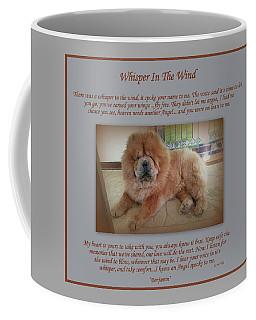Custom Paw Print Benjamin Coffee Mug