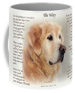 Custom Paw Print Cupar Coffee Mug