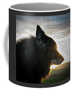 Custom Paw Print Garden Of My Heart Coffee Mug