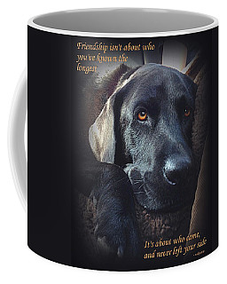 Custom Paw Print Midnight Coffee Mug