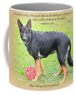 Custom Paw Print Mya Coffee Mug