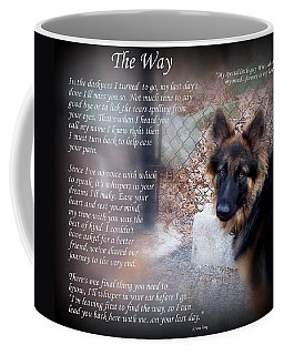 Custom Paw Print Whiskey Coffee Mug