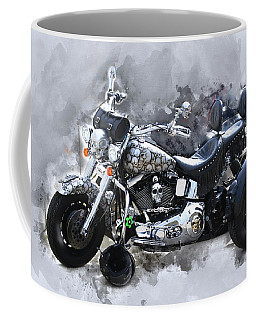 Customized Harley Davidson Coffee Mug