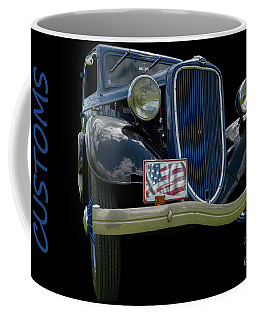 Coffee Mug featuring the photograph Customs 2 by Wendy Wilton