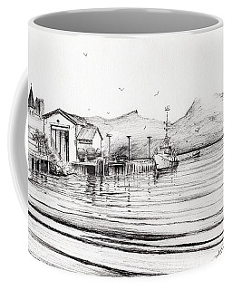 Customs Boat At Oban Coffee Mug