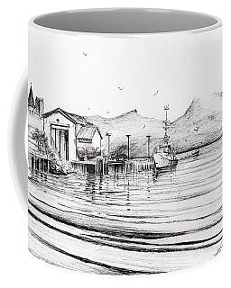 Customs Boat At Oban Coffee Mug