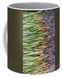 Cut Grass And Pebbles Coffee Mug