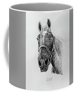 Cut The Horse Coffee Mug
