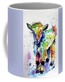 Cute Baby Goat Coffee Mug by Kovacs Anna Brigitta