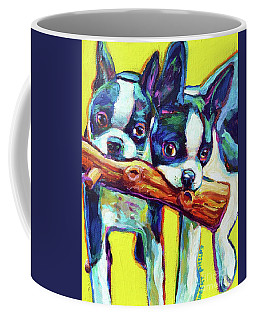 Cute Boston Terriers Coffee Mug