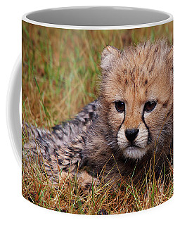 Cute Cheetah Cub Coffee Mug