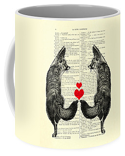 Cute Foxes Coffee Mug