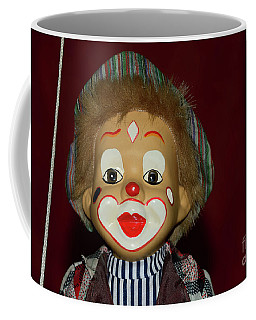 Coffee Mug featuring the photograph Cute Little Clown By Kaye Menner by Kaye Menner