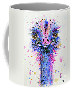 Cute Ostrich Coffee Mug