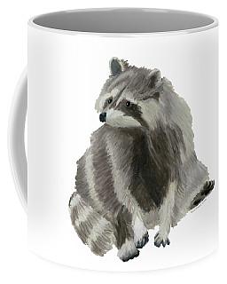 Cute Raccoon Coffee Mug