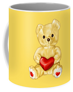 Cute Teddy Bear Hypnotist Coffee Mug
