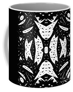 Cutouts Abstract Art Coffee Mug