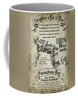 Cutting Human Coffee Mug