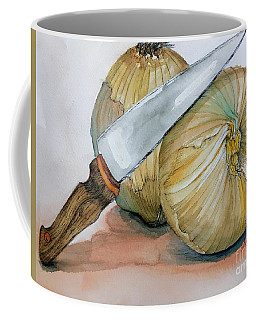 Cutting Onions Coffee Mug
