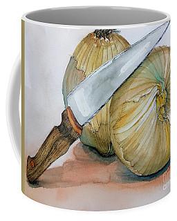 Cutting Onions Coffee Mug