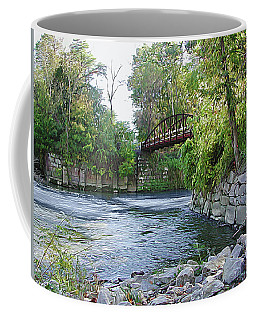 Cuyahoga River At Peninsula Coffee Mug