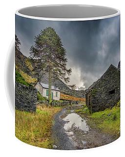 Coffee Mug featuring the photograph Cwmorthin Slate Ruins by Adrian Evans