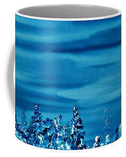 Coffee Mug featuring the painting Cy Lantyca 33 by Cyryn Fyrcyd