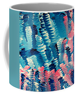 Coffee Mug featuring the painting Cy Lantyca 36 by Cyryn Fyrcyd