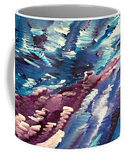 Coffee Mug featuring the painting Cy Lantyca 37 by Cyryn Fyrcyd