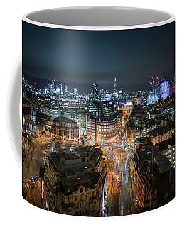 Coffee Mug featuring the photograph Cyber City by Stewart Marsden